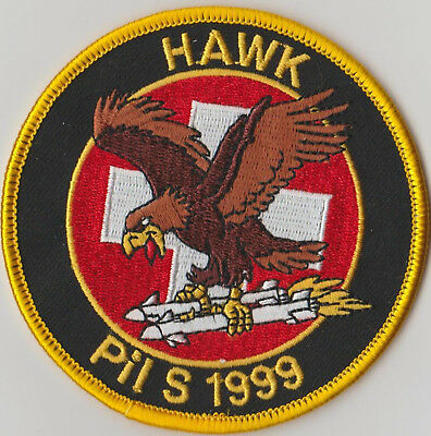 Swiss Air Force PILOTENSCHULE Original 1999 HAWK
