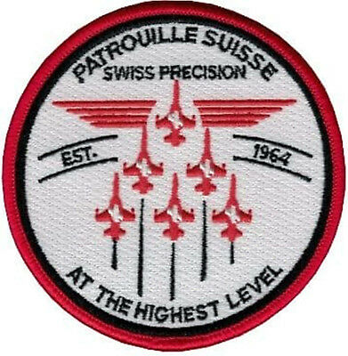 SWISS AIR FORCE PATROUILLE SUISSE PRECISION rare Original