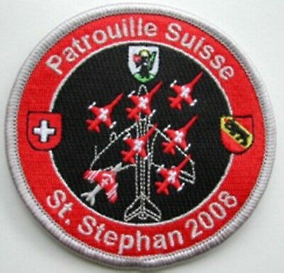 SWISS AIR FORCE PATROUILLE St.Staphan 2008 Original