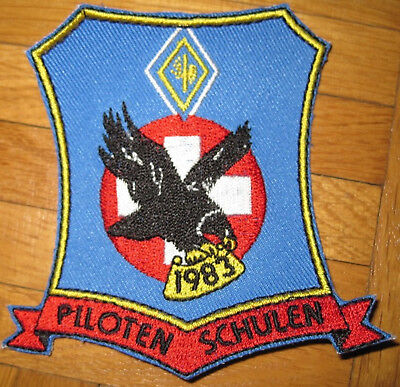 Swiss Air Force PILOTEN SCHULEN 1983