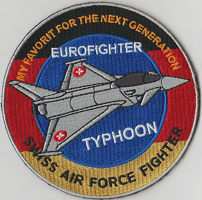 Swiss Air Force Fighter  Eurfighter Typhon Original