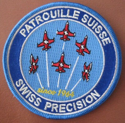 SWISS AIR FORCE PATROUILLE SUISSE PRECISION rare since 64 ORIGINAL