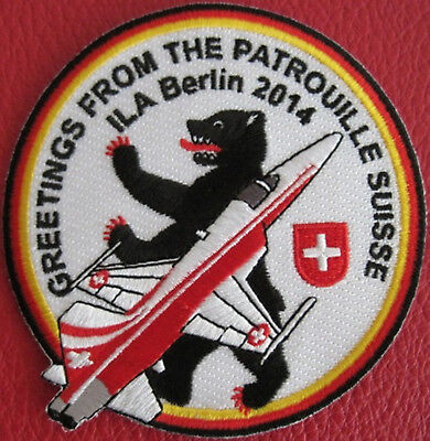 Swiss Air Force ORIGINALSWISS AIR FORCE PATROUILLE SUISSE ILA Berlin 2014