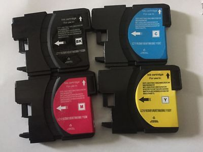 8 Ink Cartridge Set LC65 LC61 LC67 For Brother MFC-290C 295CN 495CW 490CW J615W