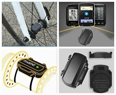 Bike Bicycle ANT+ Bluetooth Wireless Speed Cadence Sensor For Garmin Bryton