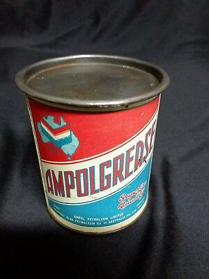 Early Ampol 1 lb ampol grease tin
