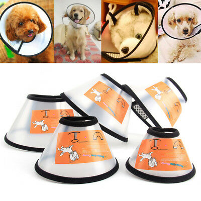 Pet Dog Protective Elizabethan Collar Wound Medical Cone Bite - Proof Protector