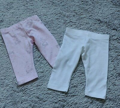 Baby girls Leggings Age 0-3 Months Bundle Of Two from tesco