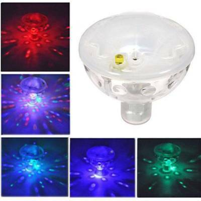 Floating Underwater LED Light Automatic Color Changing Light Solar Pond LED Lamp