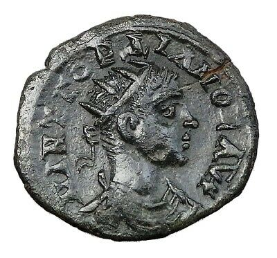 Bithynia, Nicaea. Gordian Iii Ae 19 With Old Collection Ticket (536E)