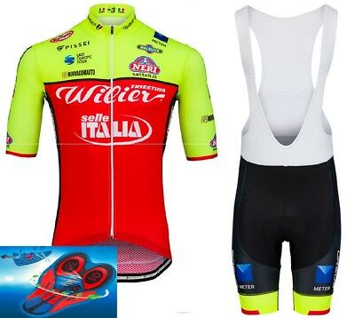 """2018 TEAM Wilier Triestina Cycling Pro Sets 9d Gel Pad """"SUPER PRICE"""""""