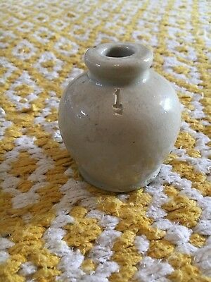Doulton Lambethware Pot - Teeny Tiny!