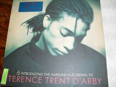 """TERENCE TRENT D'ARBY Introducing The Hardline According to - 12"""" VINYL  LP - CBS"""