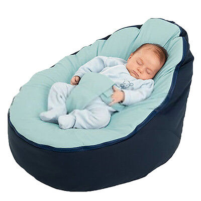 Kids Baby Bean Bag Children Sofa Chair Cover Soft Snuggle Bed Without Filling