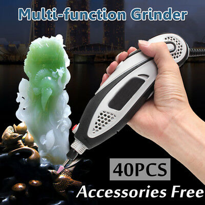 150W 40 Pcs 32000r/min Electric Mini Drill Grinder Power Rotary Tool For Carving