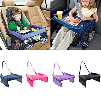 Baby Kids Waterproof Snack Play Travel Board/Car Safety Seat Tray Drawing Board