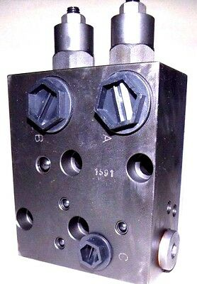 Dual Overcenter Valve 1/2 BSP for Hydraulic Motors Series MP/EPM, MR/EPRM