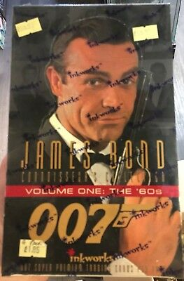 1990's James Bond 007 Trading Photo Cards 2 X Sealed Boxes Autograph Roger Moore