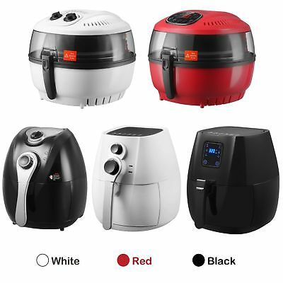 4.4 QT Electric No Oil Air Fryer Digital Touch Screen Temperature Timer Control
