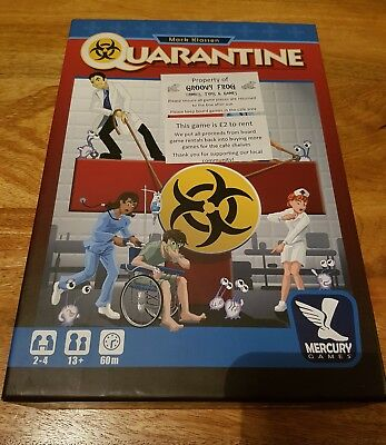 Games Quarantine Board Game Board & Traditional Games Mercury Games Free Shipping!