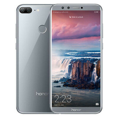 "5.65"" HUAWEI Honor 9 Lite 3+32Go Android 8.0 Octa Core 4-Kam 13MP Téléphone FR"