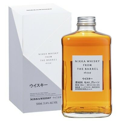 Nikka From The Barrel Japanese Whisky 500ml Gift Boxed