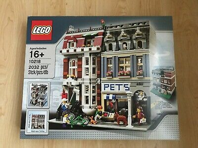 Lego Creator Modular Building Pet Shop 10218 BRAND NEW Sealed FREE 48hr Delivery