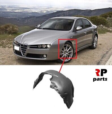 New For Alfa Romeo 159 Front Wheel Arch Splash Guard Cover Left N/s 2005 - 2012