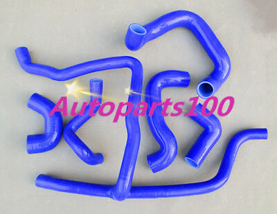 Blue silicone Radiateur hose for BMW E30 M20 320i / 325i 1989 1990 1991 1992