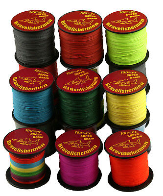 4 Stands PE Braided Extreme Super Strong Dyneema Spectra Sea 300M Fishing Line