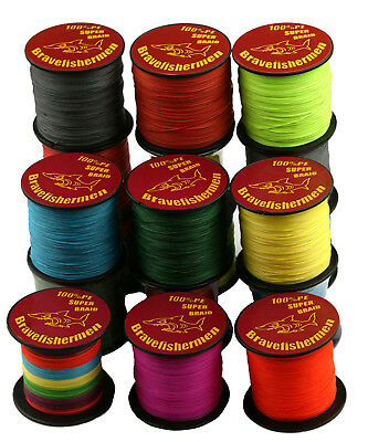 4 Strands PE Braided Extreme Super Strong Testing Spectra Sea 300M Fishing Line
