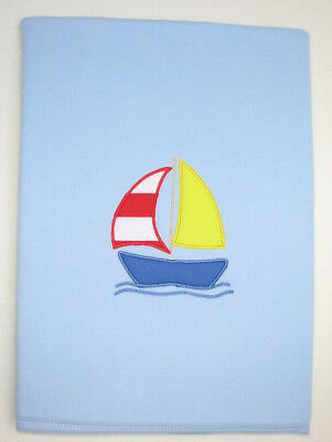 Wholesale Joblot 139 x Baby Fleece Blankets - Sailing Boat