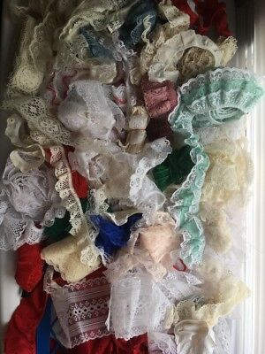 Lots of Eyelet Lace, Vintage Lace and Trims, Crochet Lace