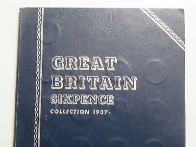 45 Great Britain 6 Pence, 1937-1952 + 1922,27,63,64,65,66,67, mix silver & clad