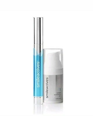 Smileactives Whitening & Brightening Duo w Whitening Gel and Pen - 30 Day Supply