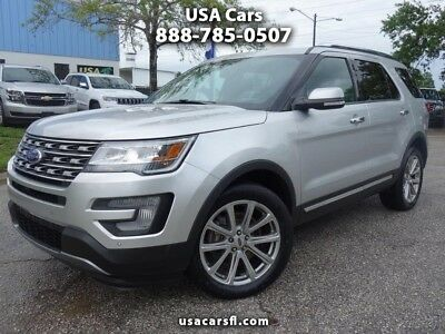 Ford Explorer Limited 4WD 2017 Ford Explroer Limited 4WD 3.5L Navi Leather f/ heat & cool Front & Rear Cam