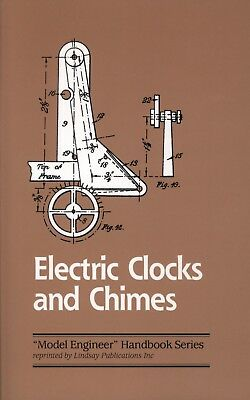 Electric Clocks And Chimes- Book- Reprint