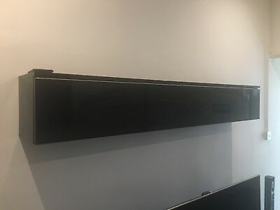 IKEA - BESTA BURS - Wall Unit / Shelf High Gloss Black with storage draw