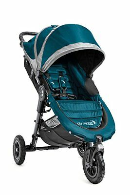 Baby Jogger City Mini GT Single Teal/Gray Single Seat Stroller- Brand New In Box