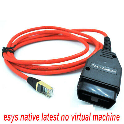 Fits BMW ENET Interface Cable Lead ICoM Coding F-Series OBD2 Diagnostic Coding