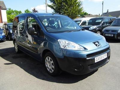 Peugeot Partner wav wheelchair access accessible disabled car vehicle