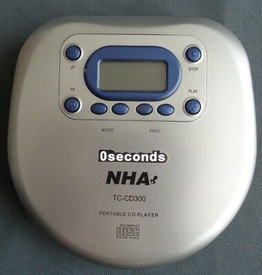 NHA TC-CD300 WALKMAN DISCMAN draagbare CD speler portable player Spieler Lecteur