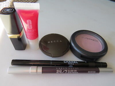 Paket: Chanel Stylo yeux 921, Urban Decay Kajal, Becca Highlighter , Mac etc.