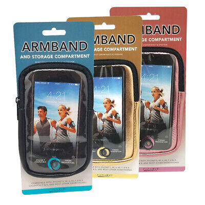Formfit Armband and Storage Compartment Metallic, Iphone, Samsung All Models