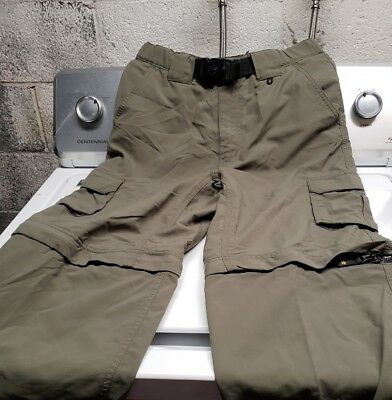 Mens boy scout switchback pants xsmall with zip off legs