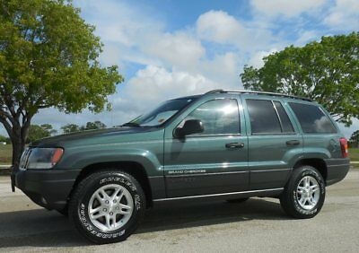 2003 Jeep Grand Cherokee Laredo LIKE LIMITED 4WD~SUNROOF~ONLY 79K MILES! Gorgeous Onyx Green~Leather~NEW BRIDGESTONES~NON SMOKER~NICE ONE~04 05 06 07 08