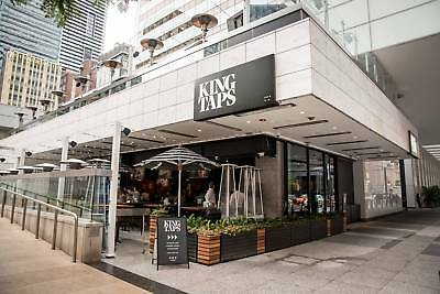 King Taps - $100 Gift Card for Toronto's Best Restaurant for Craft Beer & Pizza