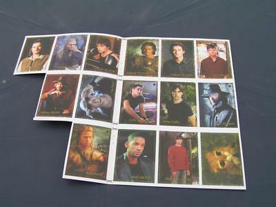 15 card ORLANDO BLOOM BRAD PITT JOHNNY DEPP COLIN FARRELL WILL SMITH TOM WELLING