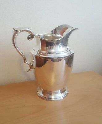 Vintage Alvin Sterling Silver Water Pitcher S83/1 4 1/2 Pints