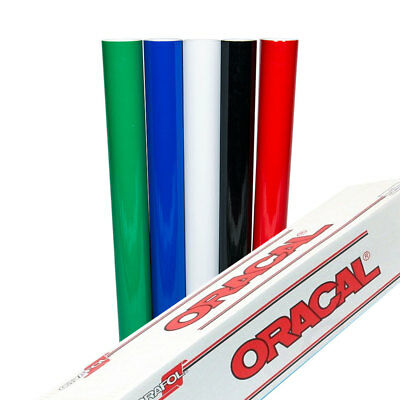 "Oracal 651 Sign Vinyl, 5-Color Starter Pack (24"" x 5 Feet Each), Self Adhesive"